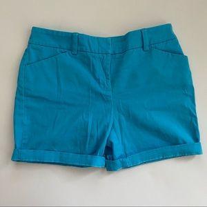 Jones New York Sky Blue Chino Shorts